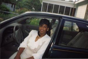 My mommy, Vanessa Bryant